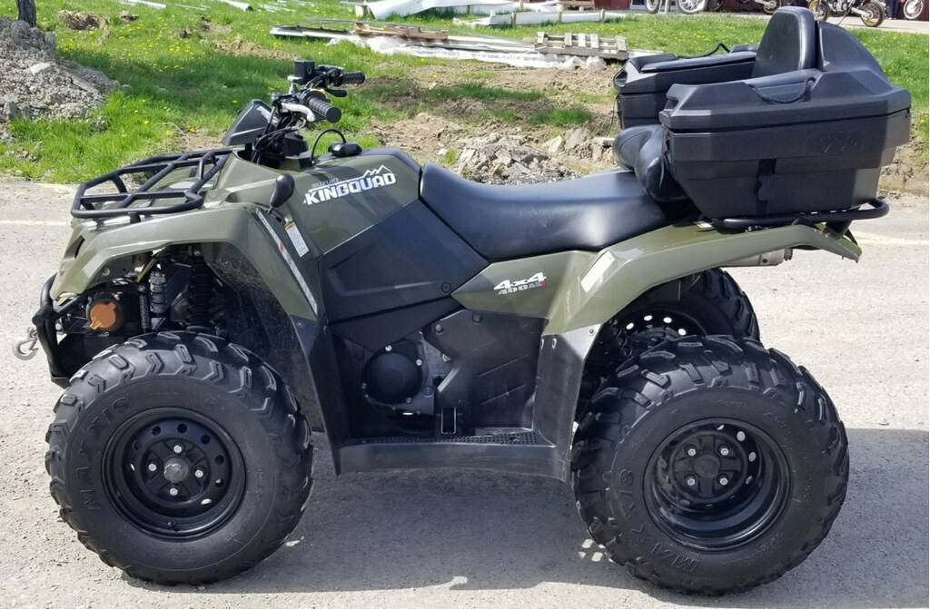 2015 Suzuki KingQuad 400FSi in Cambridge, Ohio - Photo 4
