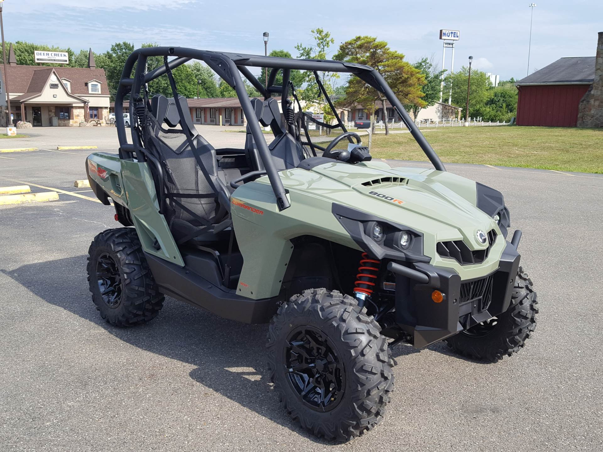 2020 Can-Am Commander DPS 800R in Cambridge, Ohio - Photo 3