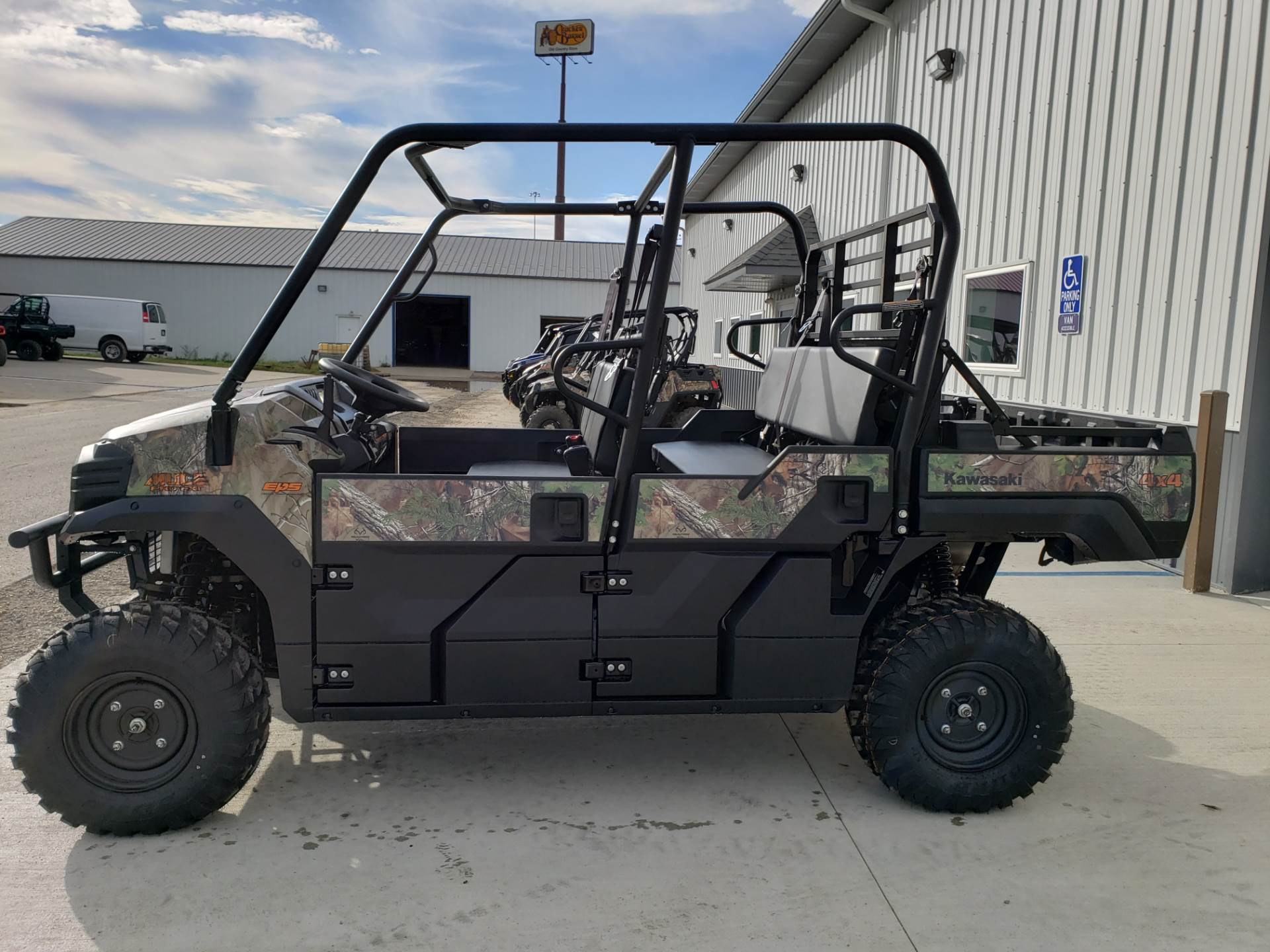 2019 Kawasaki Mule PRO-FXT EPS Camo in Cambridge, Ohio - Photo 1
