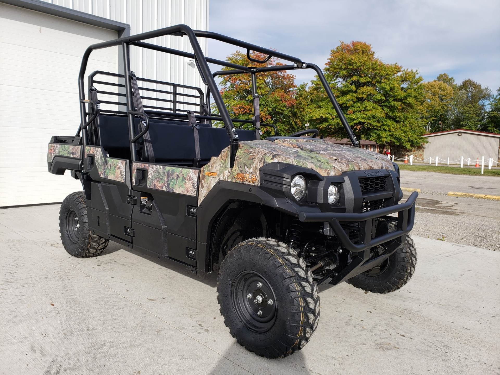 2019 Kawasaki Mule PRO-FXT EPS Camo in Cambridge, Ohio - Photo 4