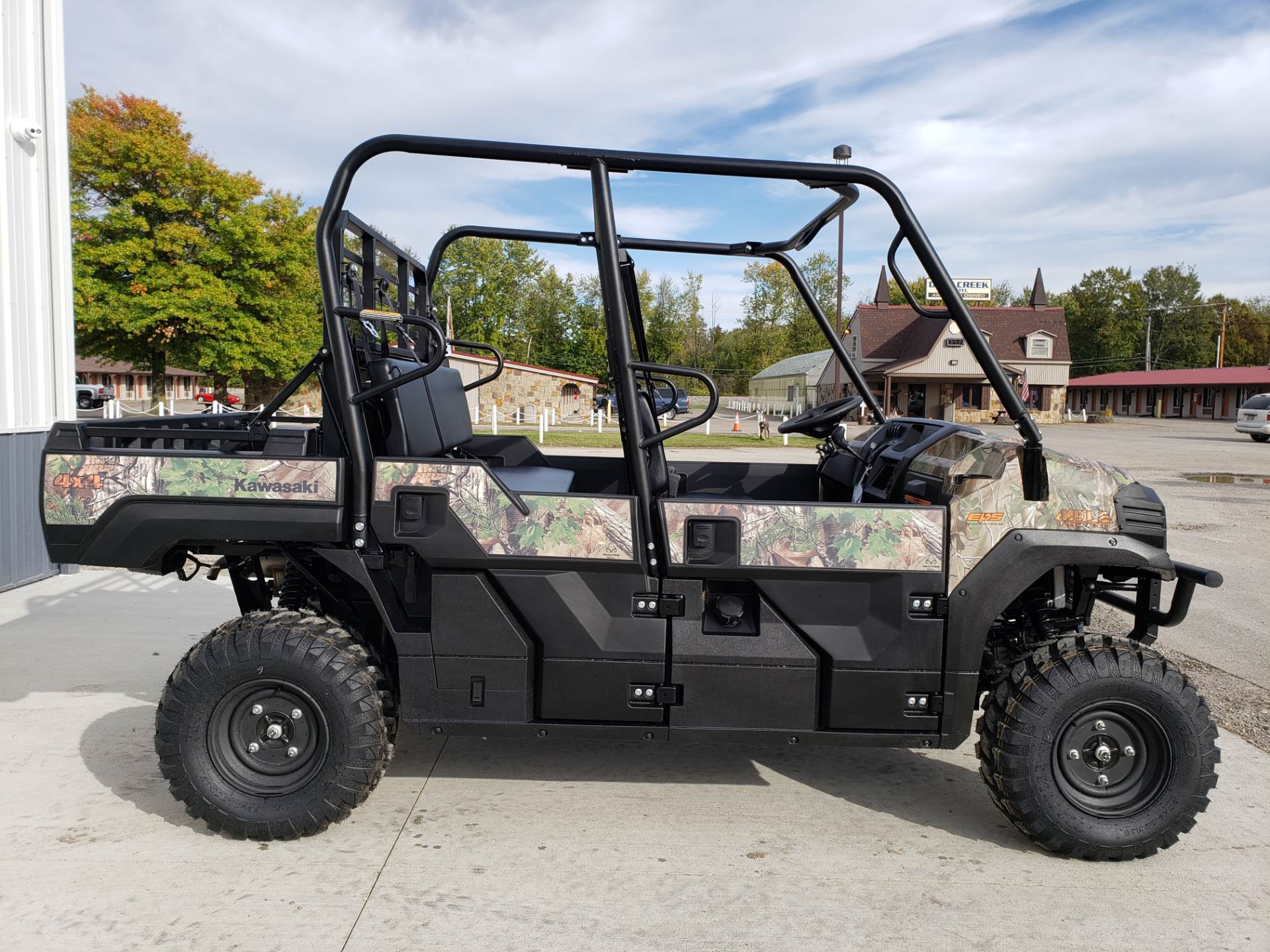 2019 Kawasaki Mule PRO-FXT EPS Camo in Cambridge, Ohio - Photo 5