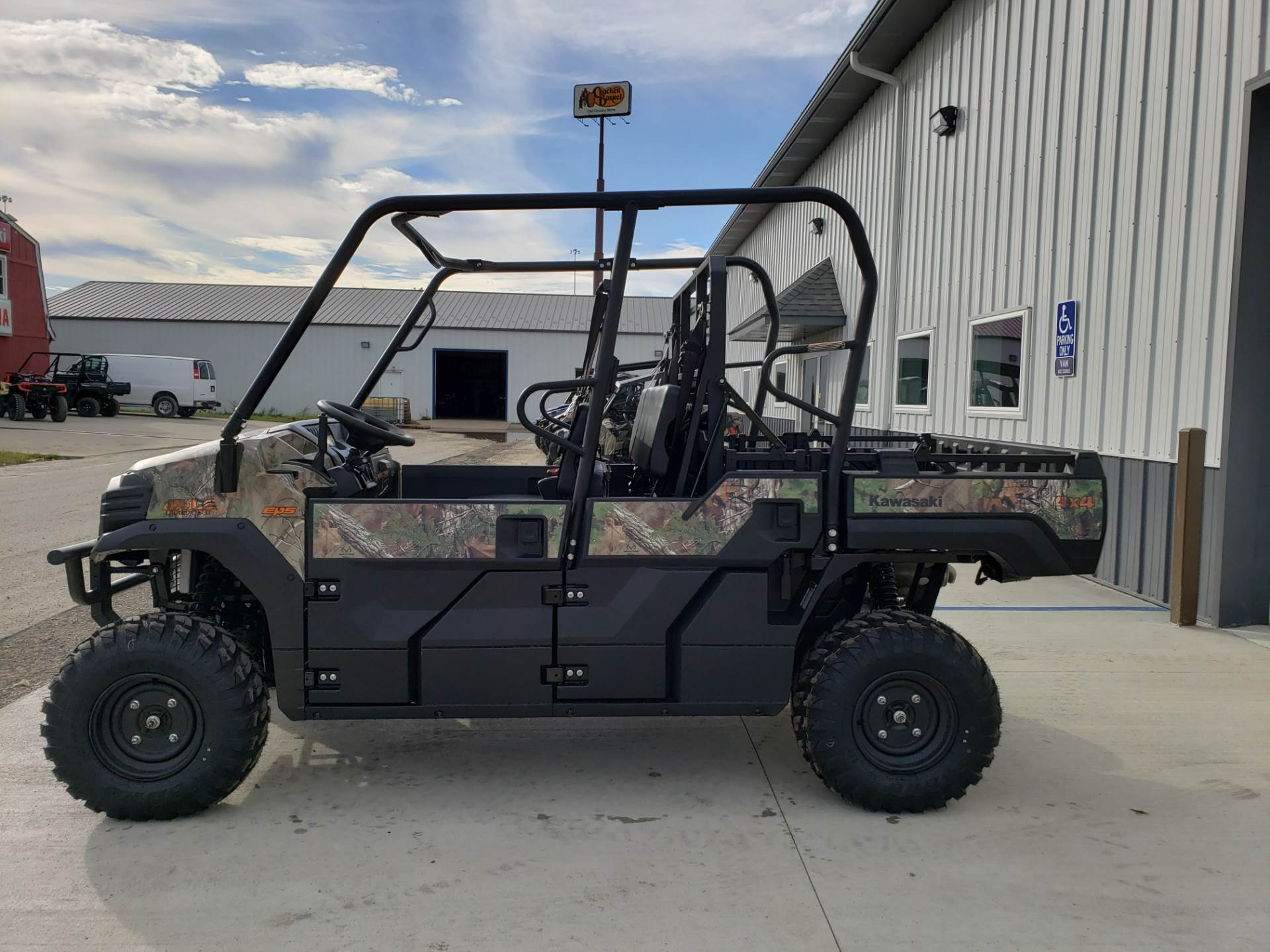 2019 Kawasaki Mule PRO-FXT EPS Camo in Cambridge, Ohio - Photo 7