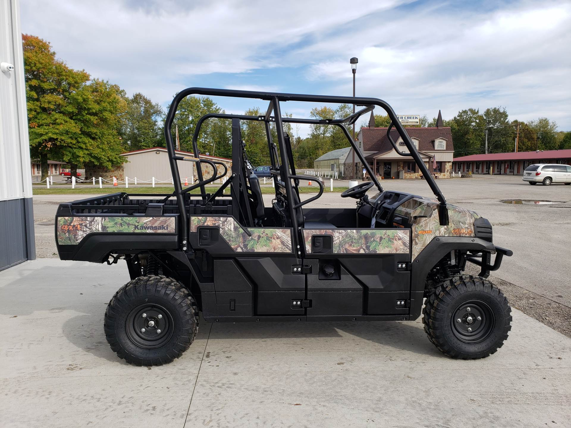 2019 Kawasaki Mule PRO-FXT EPS Camo in Cambridge, Ohio - Photo 8