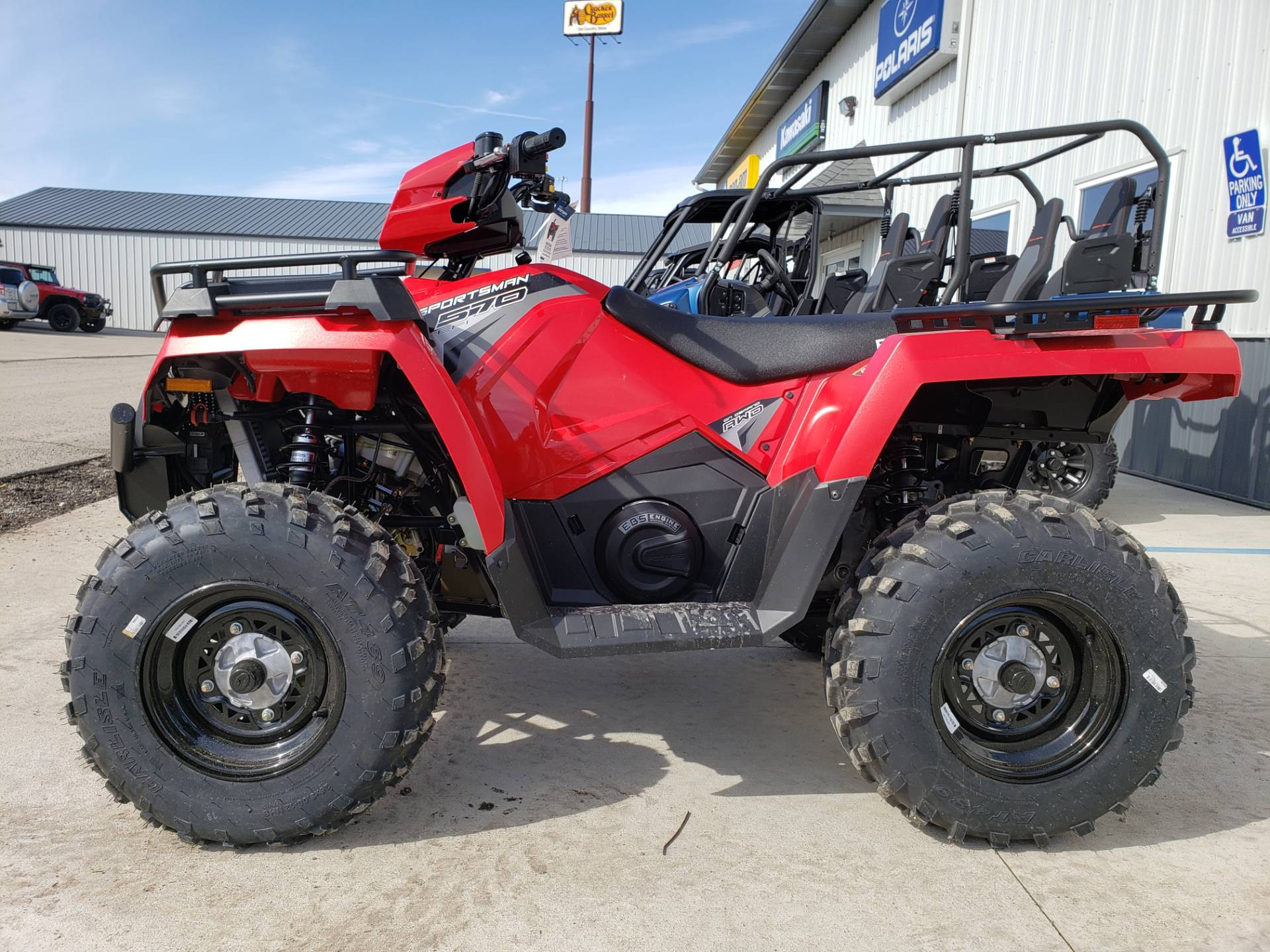 2020 Polaris Sportsman 570 EPS Utility Package in Cambridge, Ohio - Photo 4
