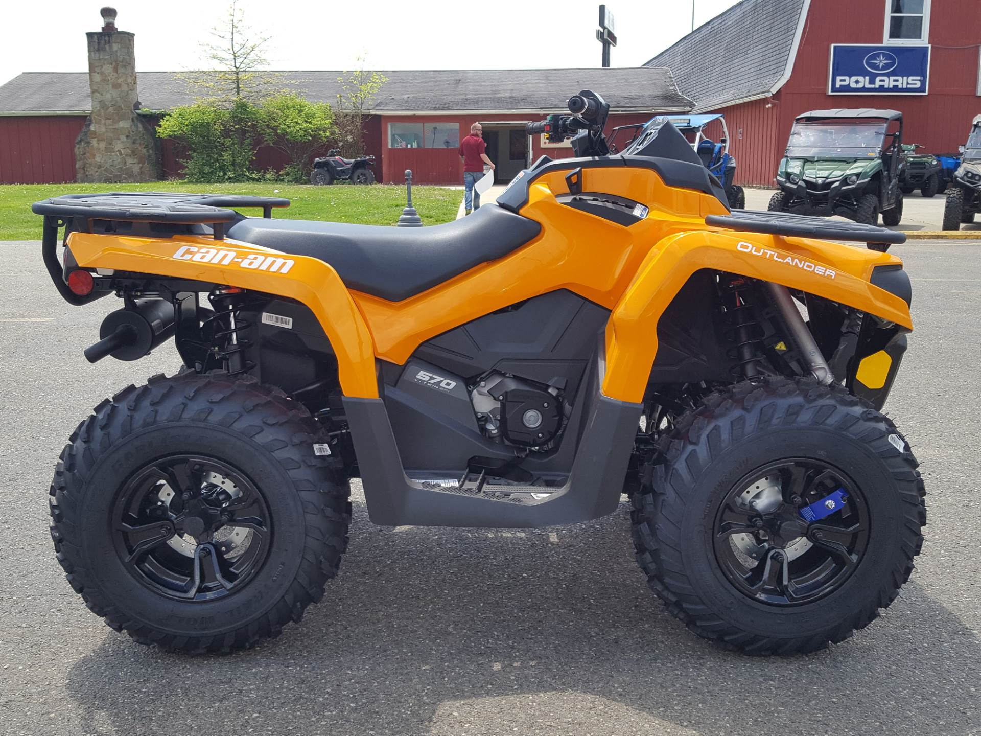 2020 Can-Am Outlander DPS 570 in Cambridge, Ohio - Photo 5