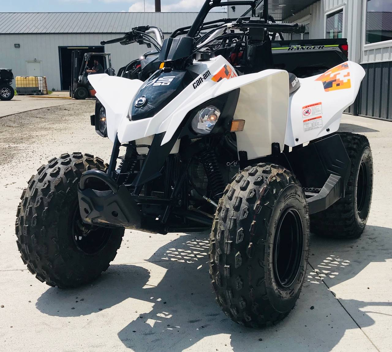 2020 Can-Am DS 90 in Cambridge, Ohio - Photo 6