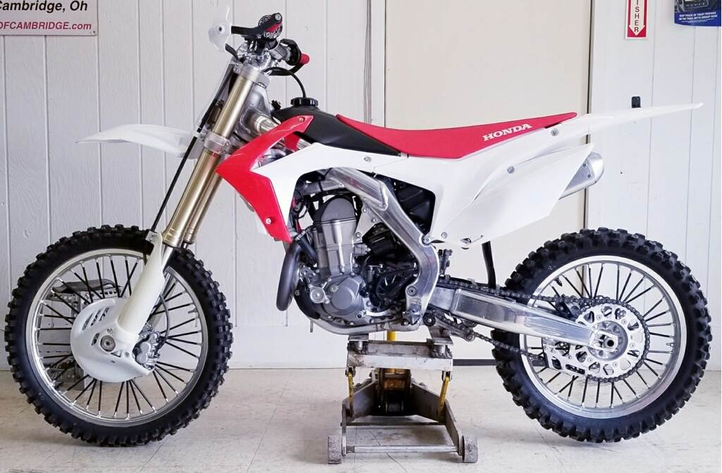 2013 Honda CRF®450R in Cambridge, Ohio - Photo 1