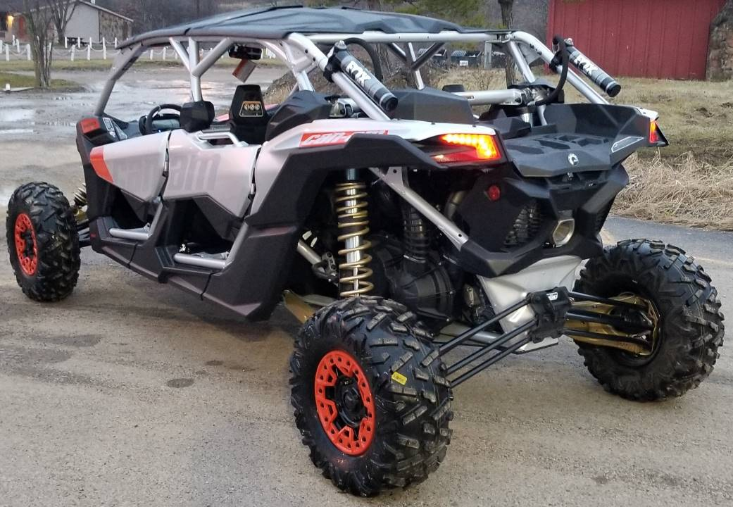 2020 Can-Am Maverick X3 MAX X RS Turbo RR in Cambridge, Ohio - Photo 5