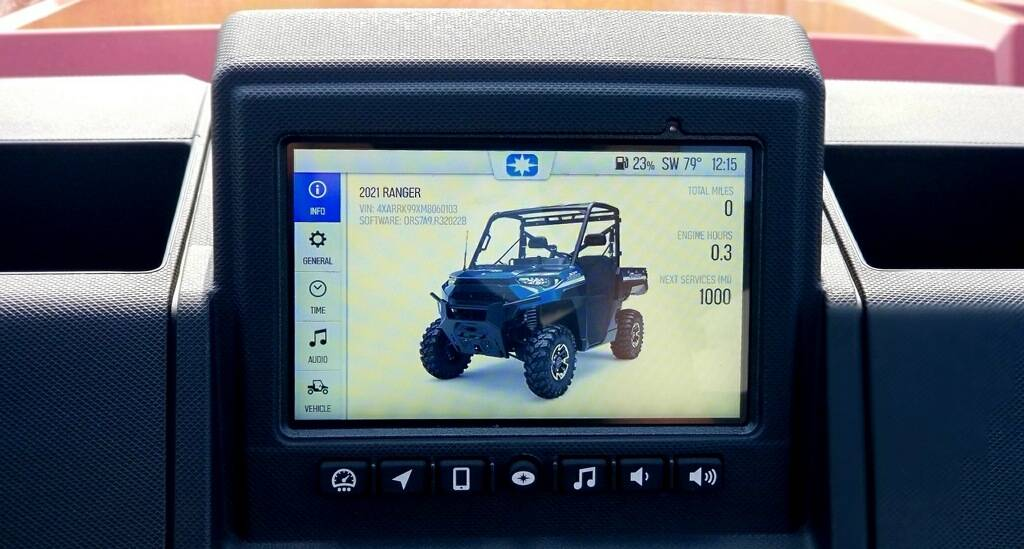 2021 Polaris Ranger XP 1000 Premium + Ride Command Package in Cambridge, Ohio - Photo 14