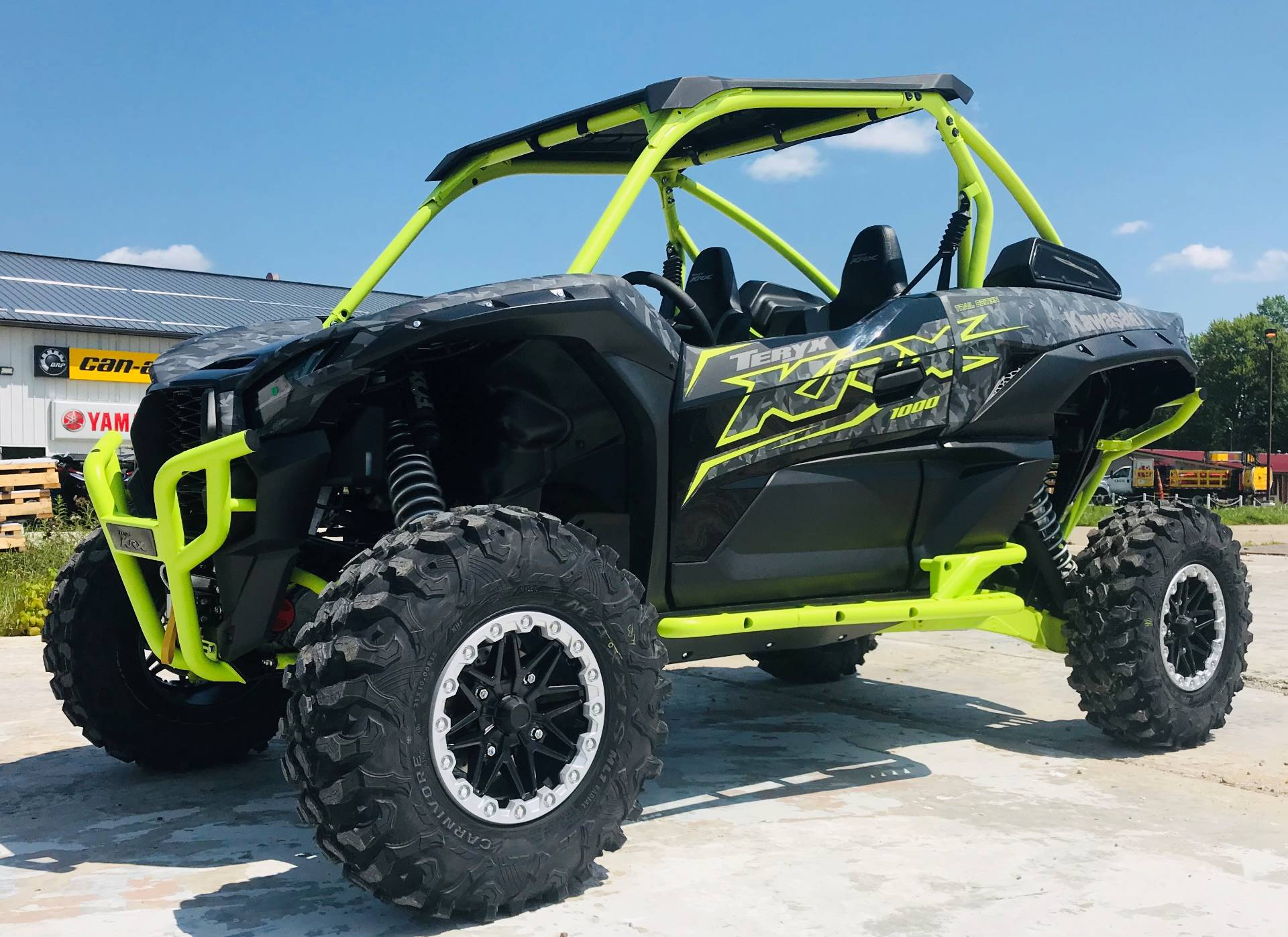 2021 Kawasaki Teryx KRX 1000 Trail Edition in Cambridge, Ohio - Photo 3
