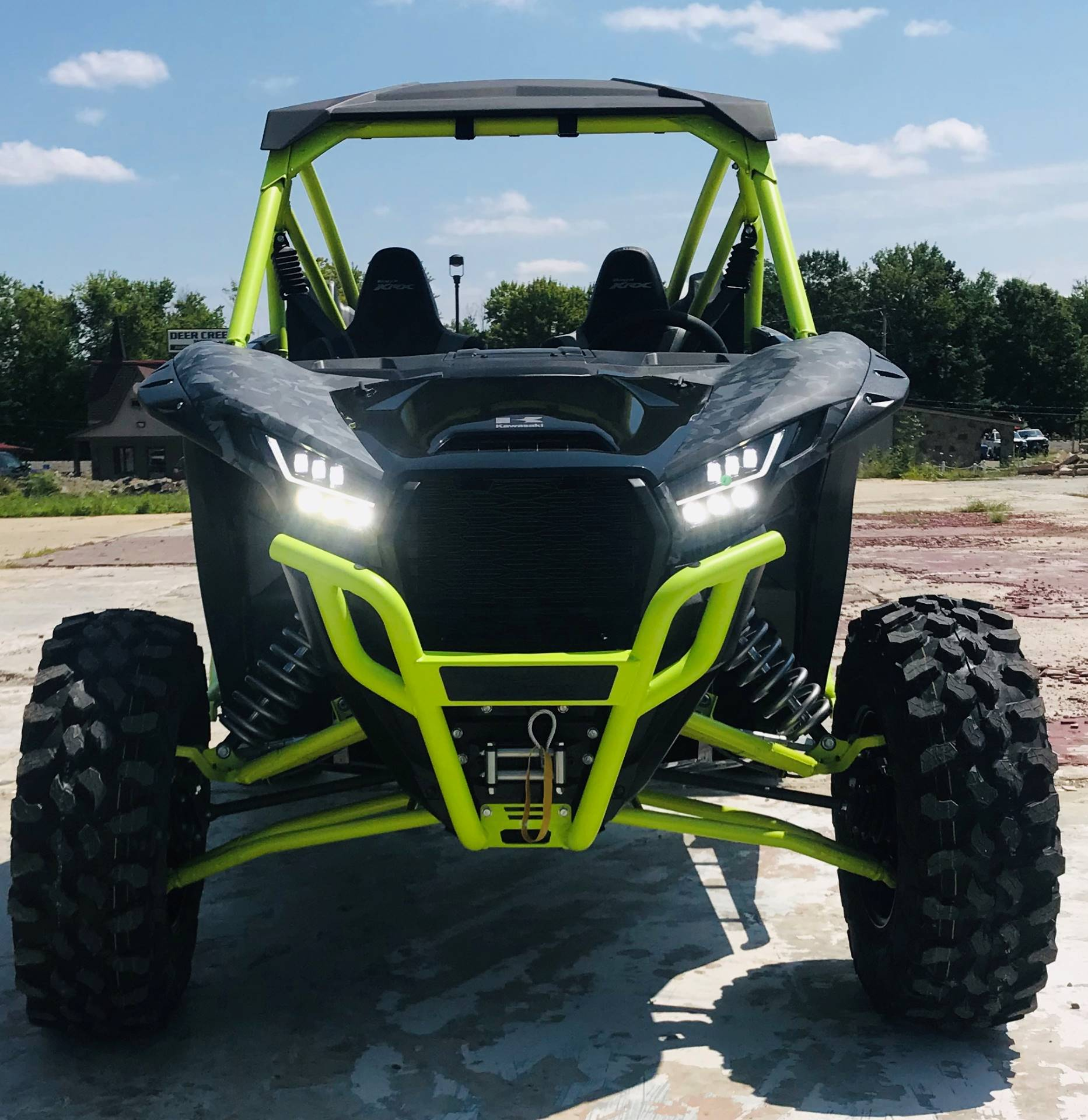 2021 Kawasaki Teryx KRX 1000 Trail Edition in Cambridge, Ohio - Photo 4