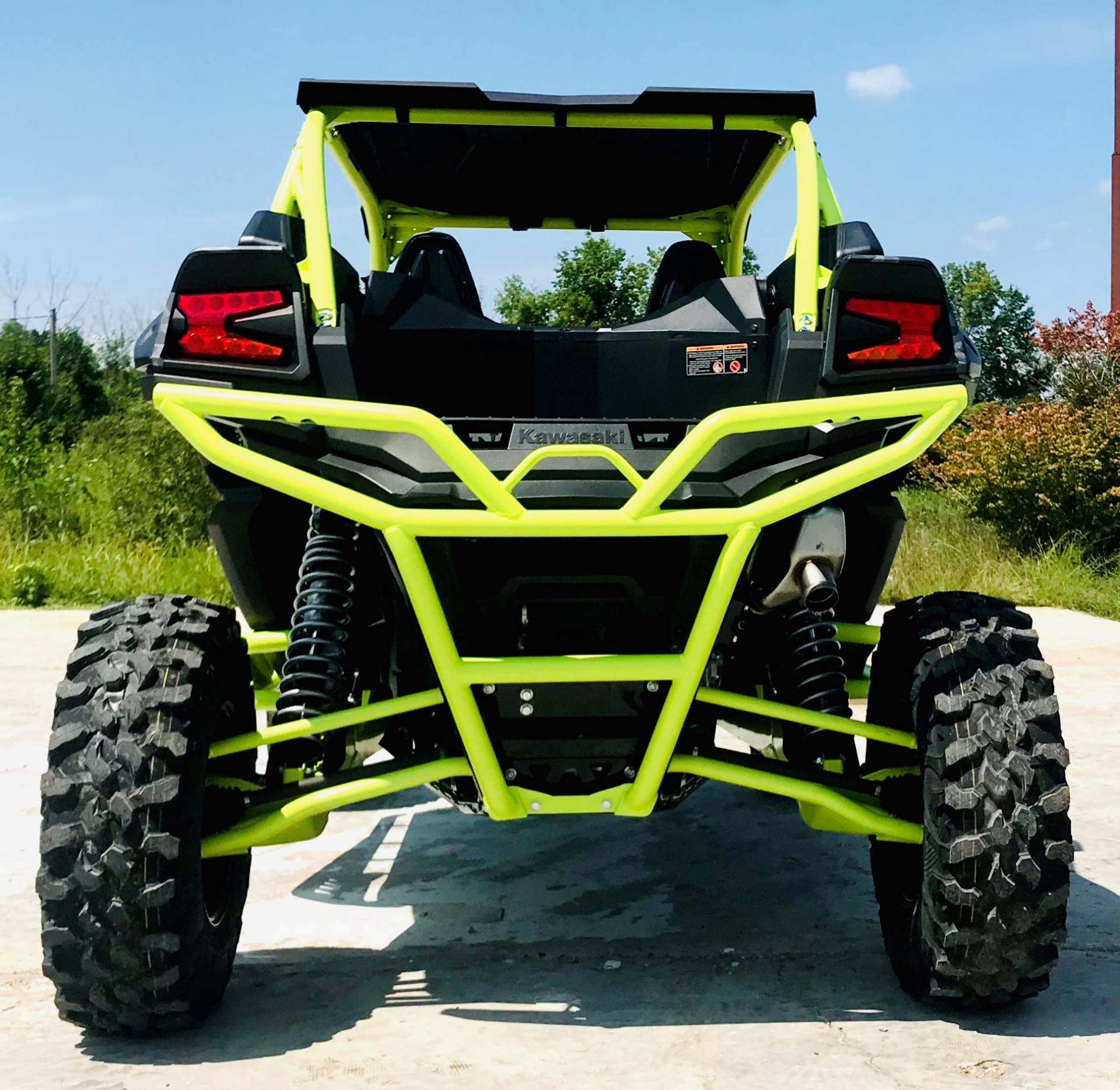 2021 Kawasaki Teryx KRX 1000 Trail Edition in Cambridge, Ohio - Photo 7