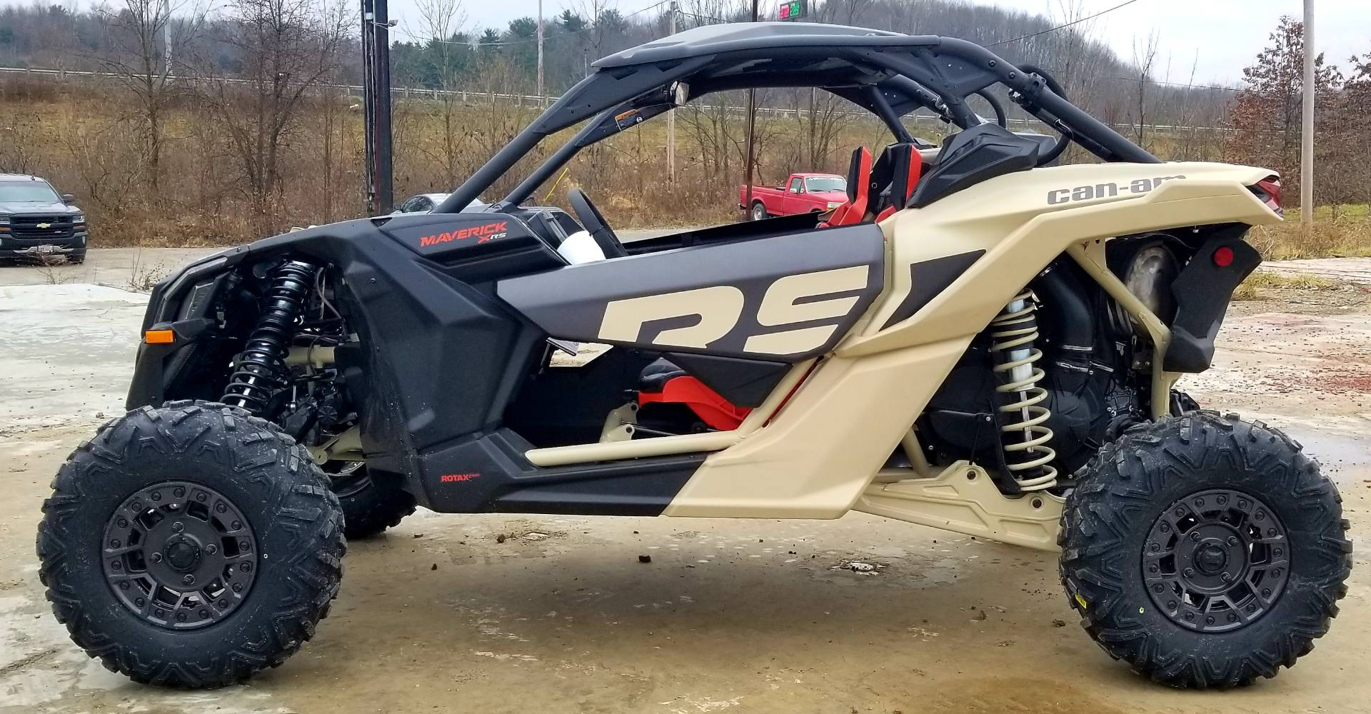 2021 Can-Am Maverick X3 X RS Turbo RR in Cambridge, Ohio - Photo 8