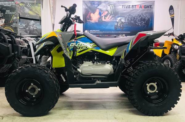 2019 Polaris Outlaw 110 in Cambridge, Ohio
