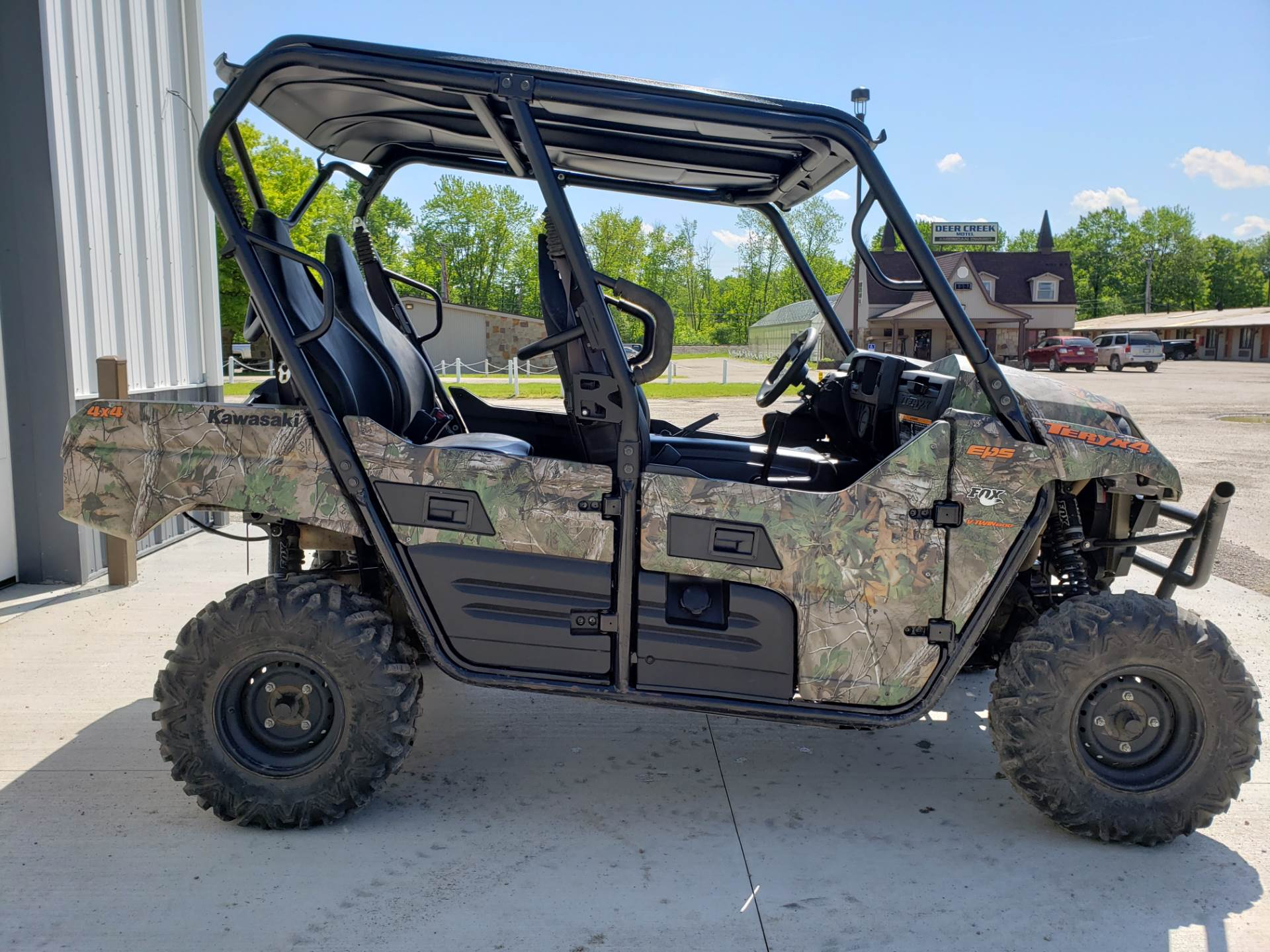 2017 Kawasaki Teryx4 Camo in Cambridge, Ohio - Photo 5