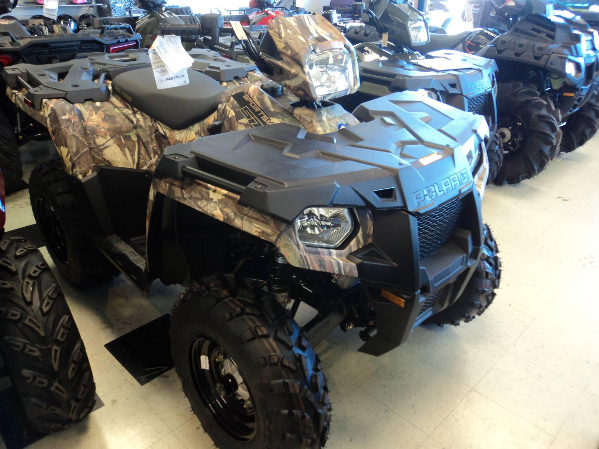 New 2019 Polaris Sportsman 570 EPS Camo ATVs in Forest, VA