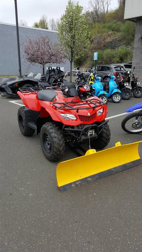 2015 Suzuki KingQuad 400FSi in Danbury, Connecticut