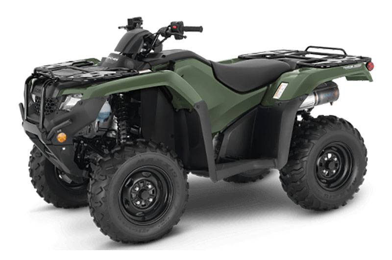 2021 Honda Fourtrax Rancher 4x4 Automatic DCT IRS in Danbury, Connecticut - Photo 4