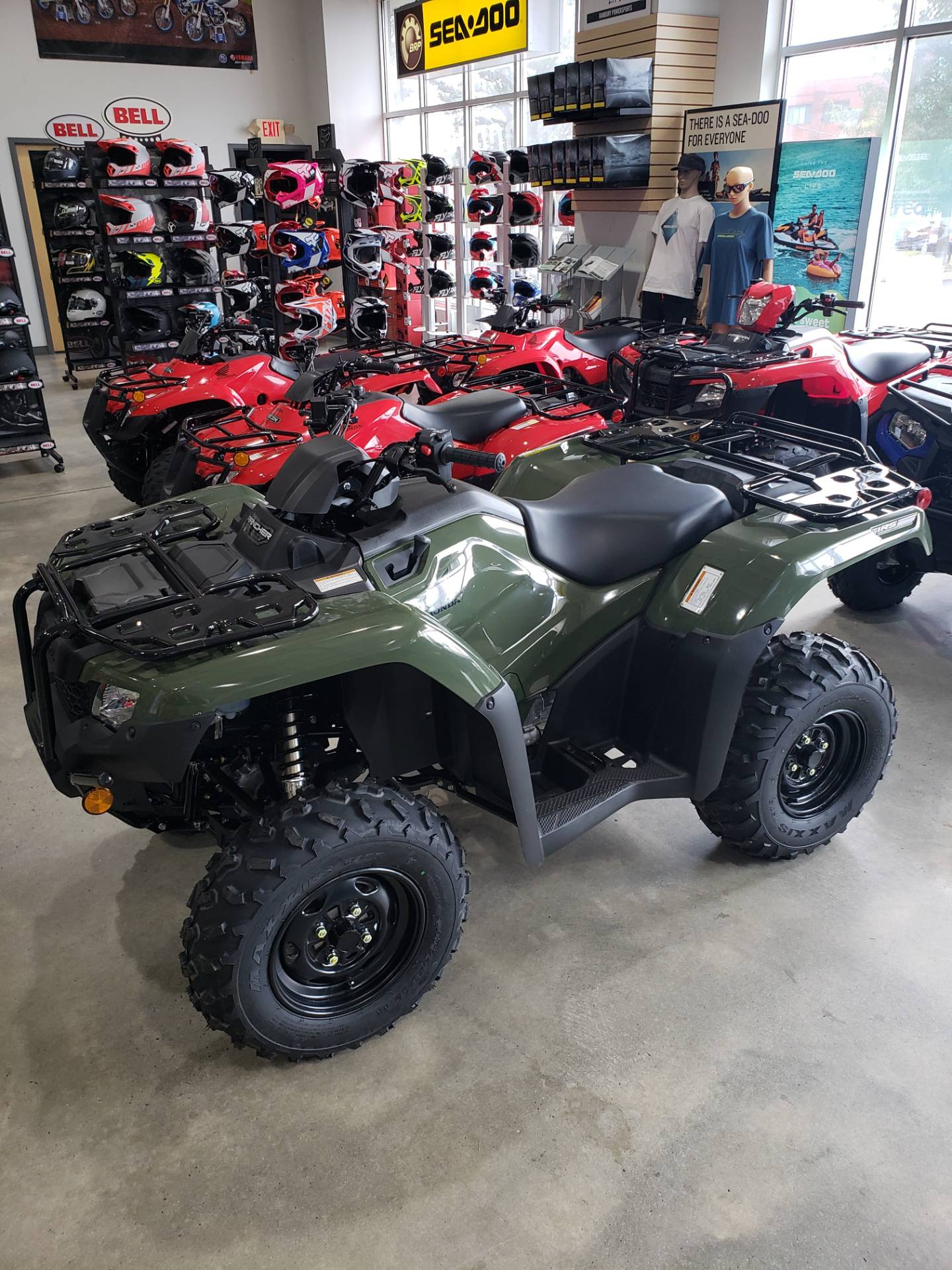 2021 Honda Fourtrax Rancher 4x4 Automatic DCT IRS in Danbury, Connecticut - Photo 1