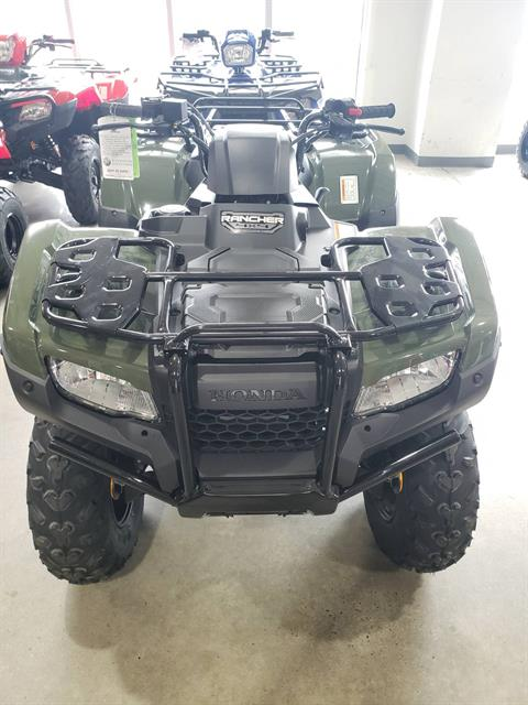 2021 Honda Fourtrax Rancher 4x4 Automatic DCT IRS in Danbury, Connecticut - Photo 2