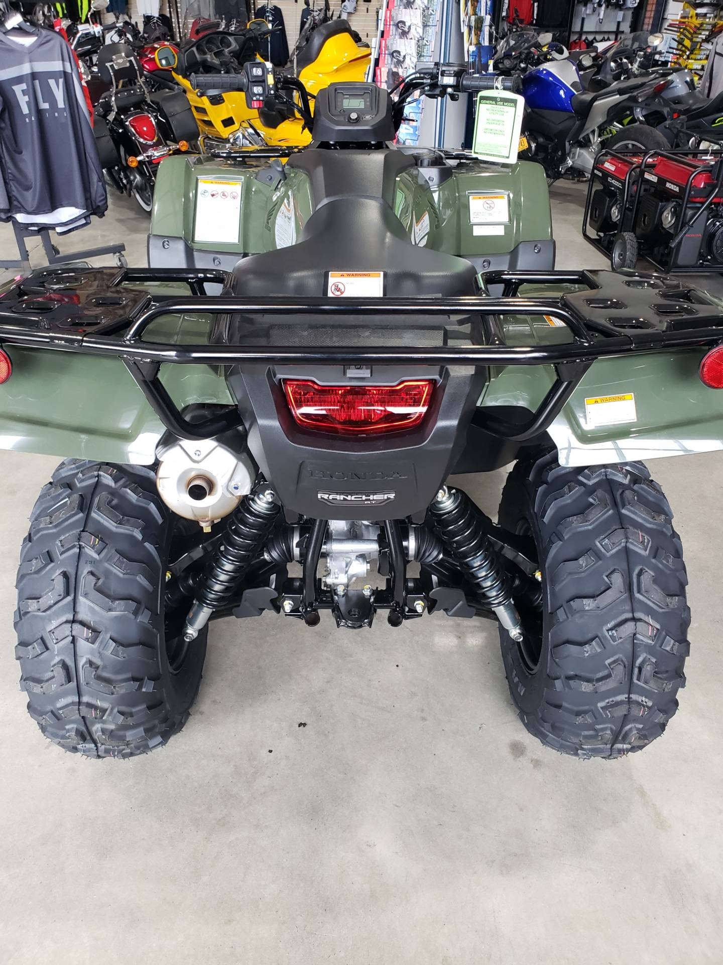 2021 Honda Fourtrax Rancher 4x4 Automatic DCT IRS in Danbury, Connecticut - Photo 3