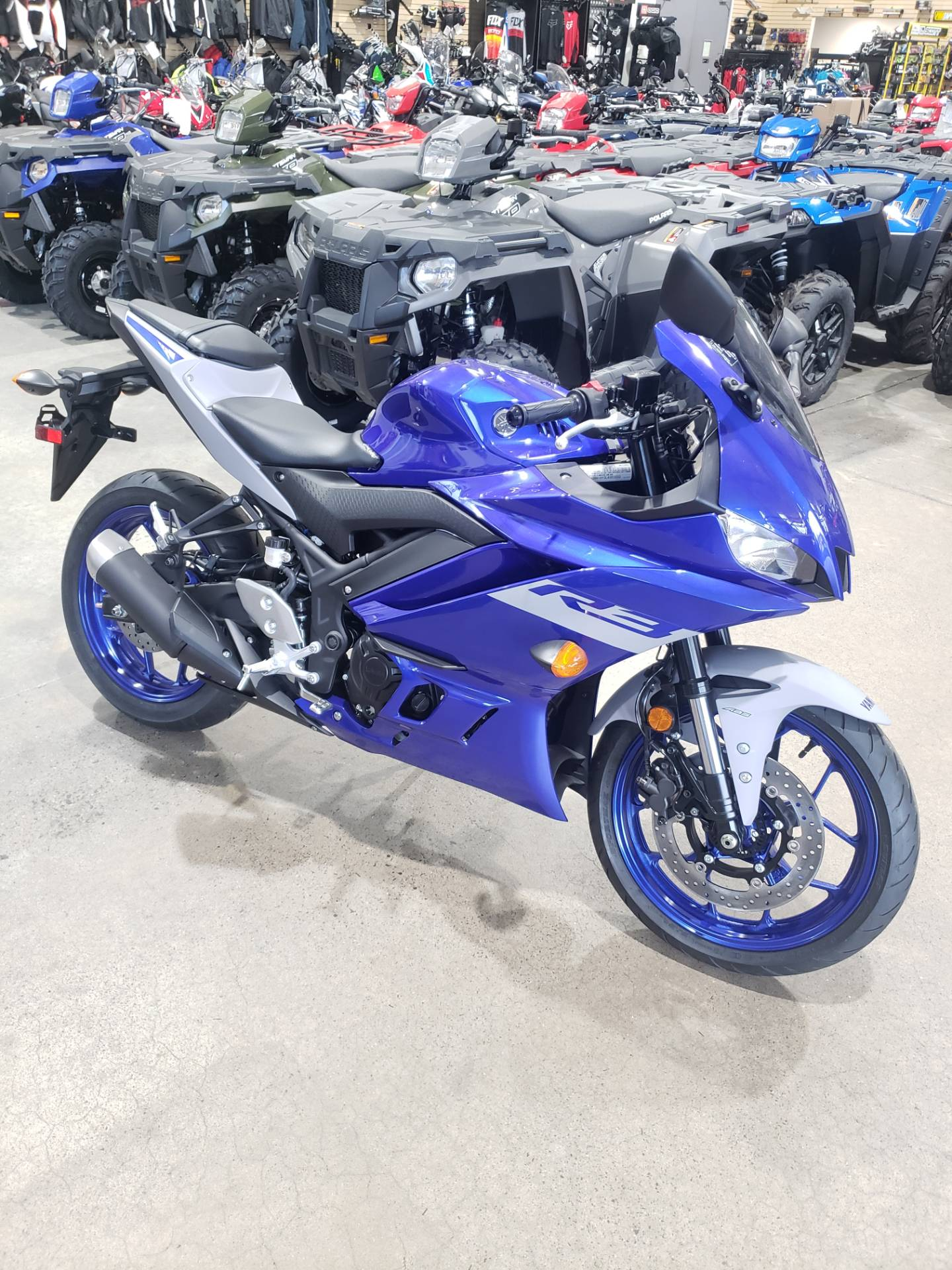 2020 Yamaha YZF-R3 ABS in Danbury, Connecticut - Photo 1