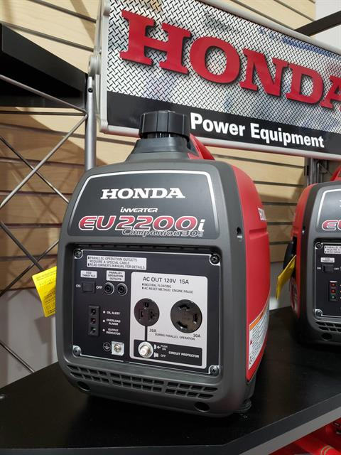 Honda Power Equipment EU2200i Companion in Danbury, Connecticut - Photo 1