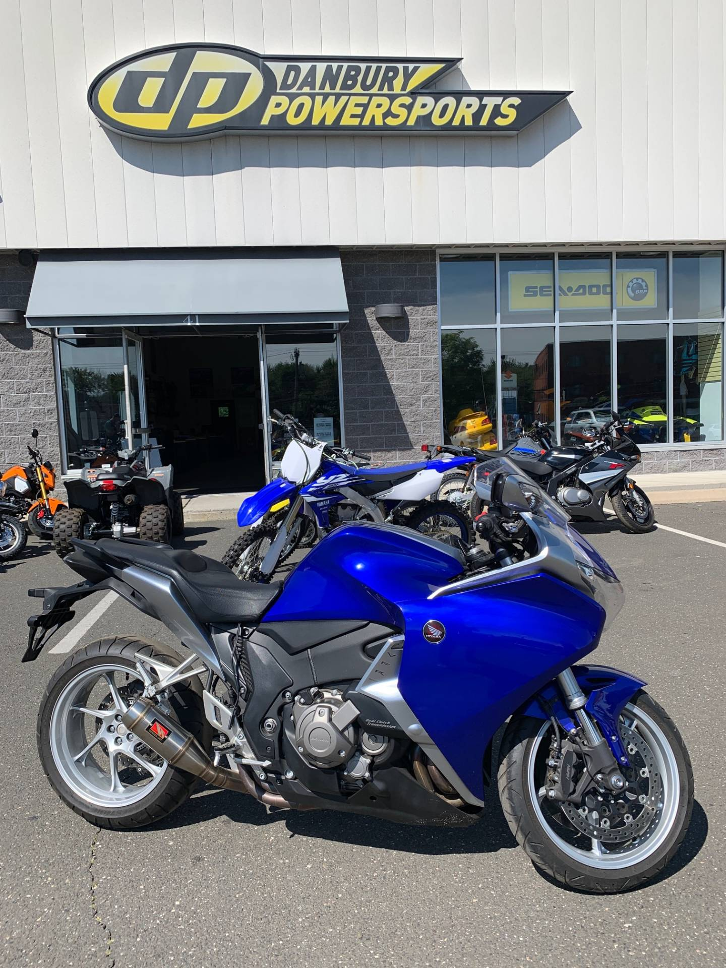 2010 Honda VFR1200 DCT in Danbury, Connecticut - Photo 1