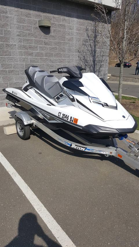 2016 Yamaha FX Cruiser SVHO in Danbury, Connecticut