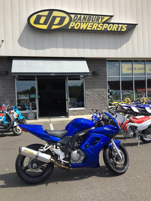 2007 Suzuki SV650S in Danbury, Connecticut