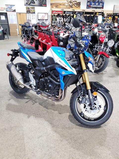 2015 Suzuki GSX-S 750 in Danbury, Connecticut