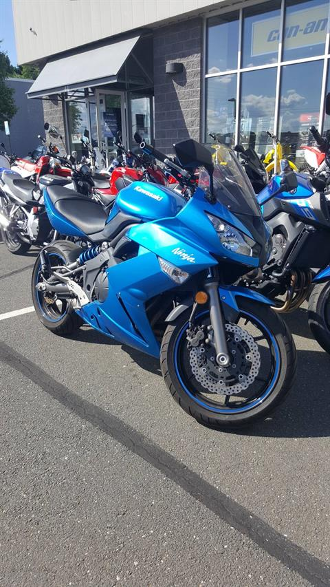 2010 Kawasaki Ninja® 650R  in Danbury, Connecticut