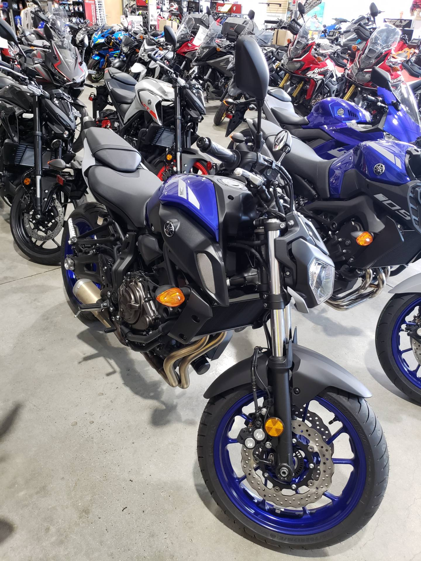 2020 Yamaha MT-07 in Danbury, Connecticut - Photo 1