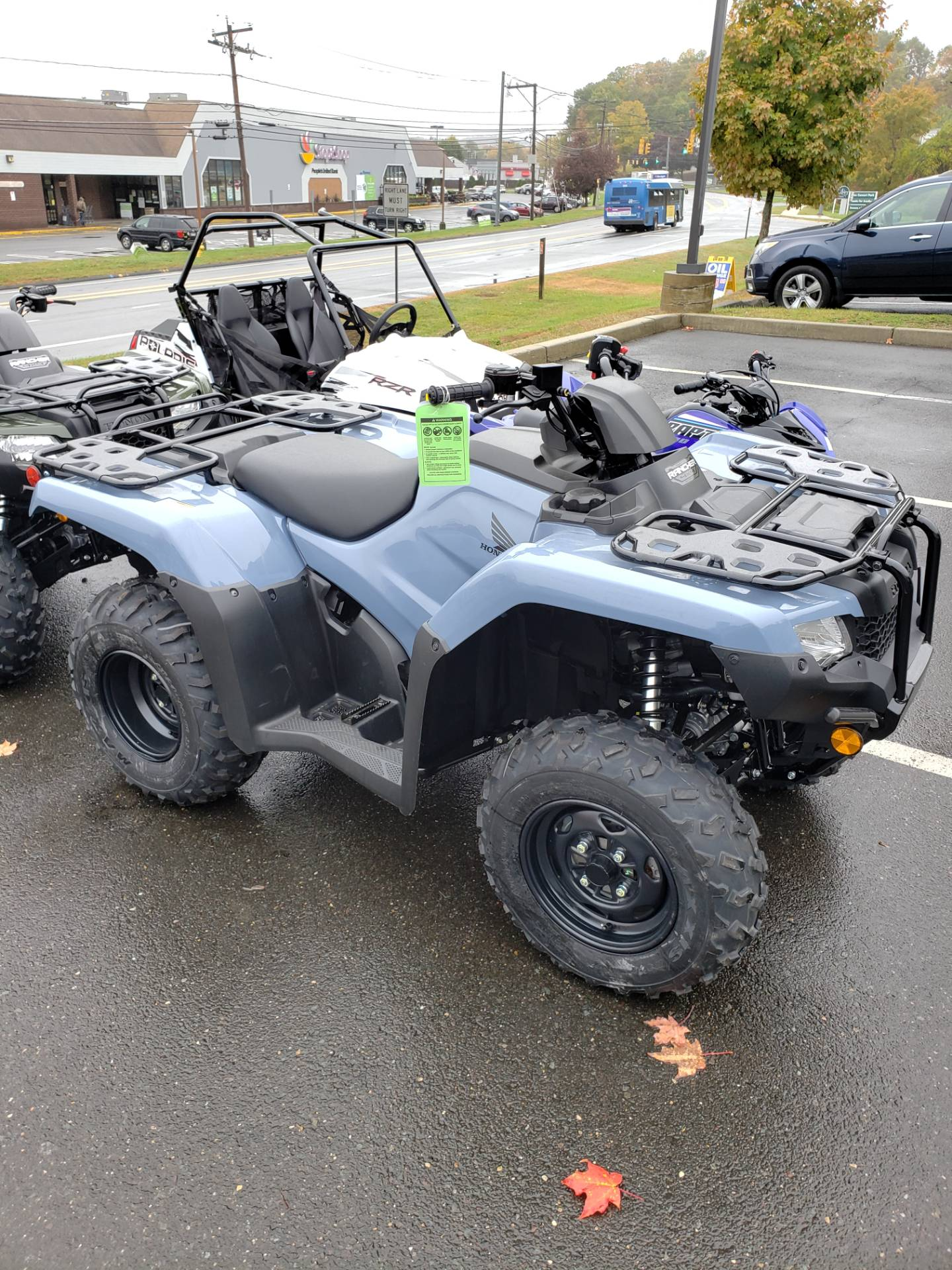 2021 Honda Fourtrax Rancher 4x4 Automatic DCT EPS in Danbury, Connecticut - Photo 1
