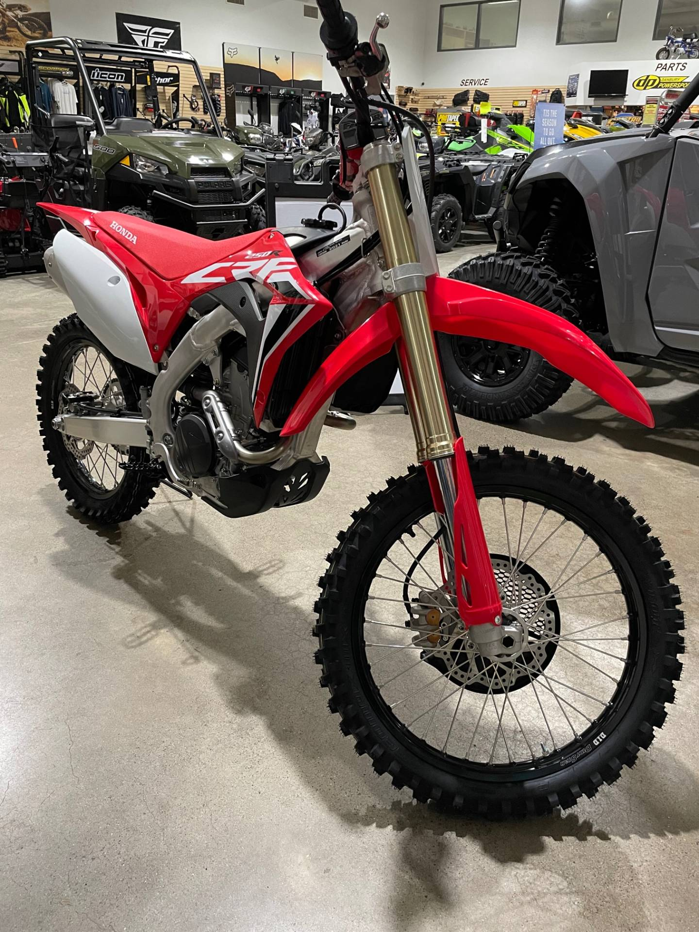 2021 Honda CRF250R in Danbury, Connecticut - Photo 1