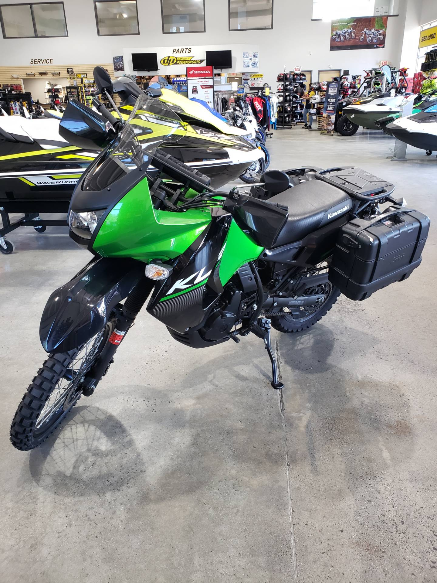 2015 Kawasaki KLR 650 in Danbury, Connecticut - Photo 2