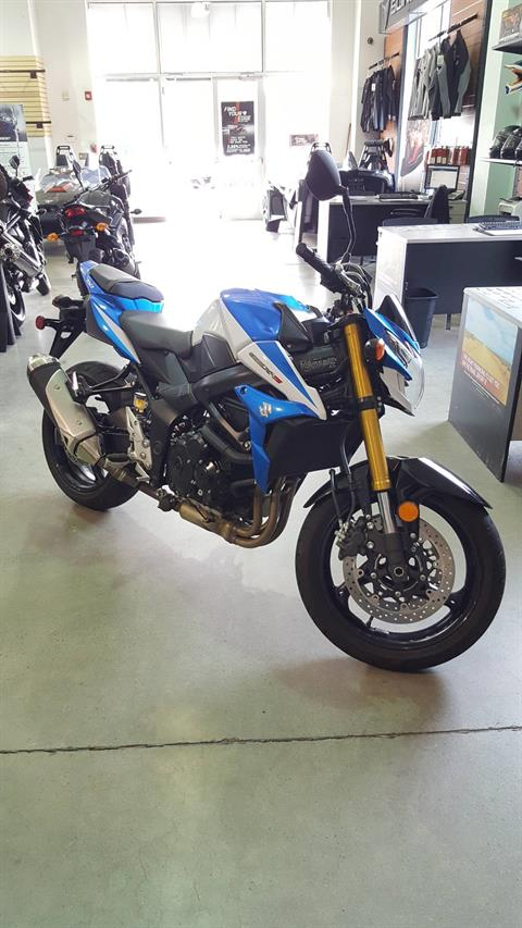 2015 Suzuki GSX-S750Z in Danbury, Connecticut