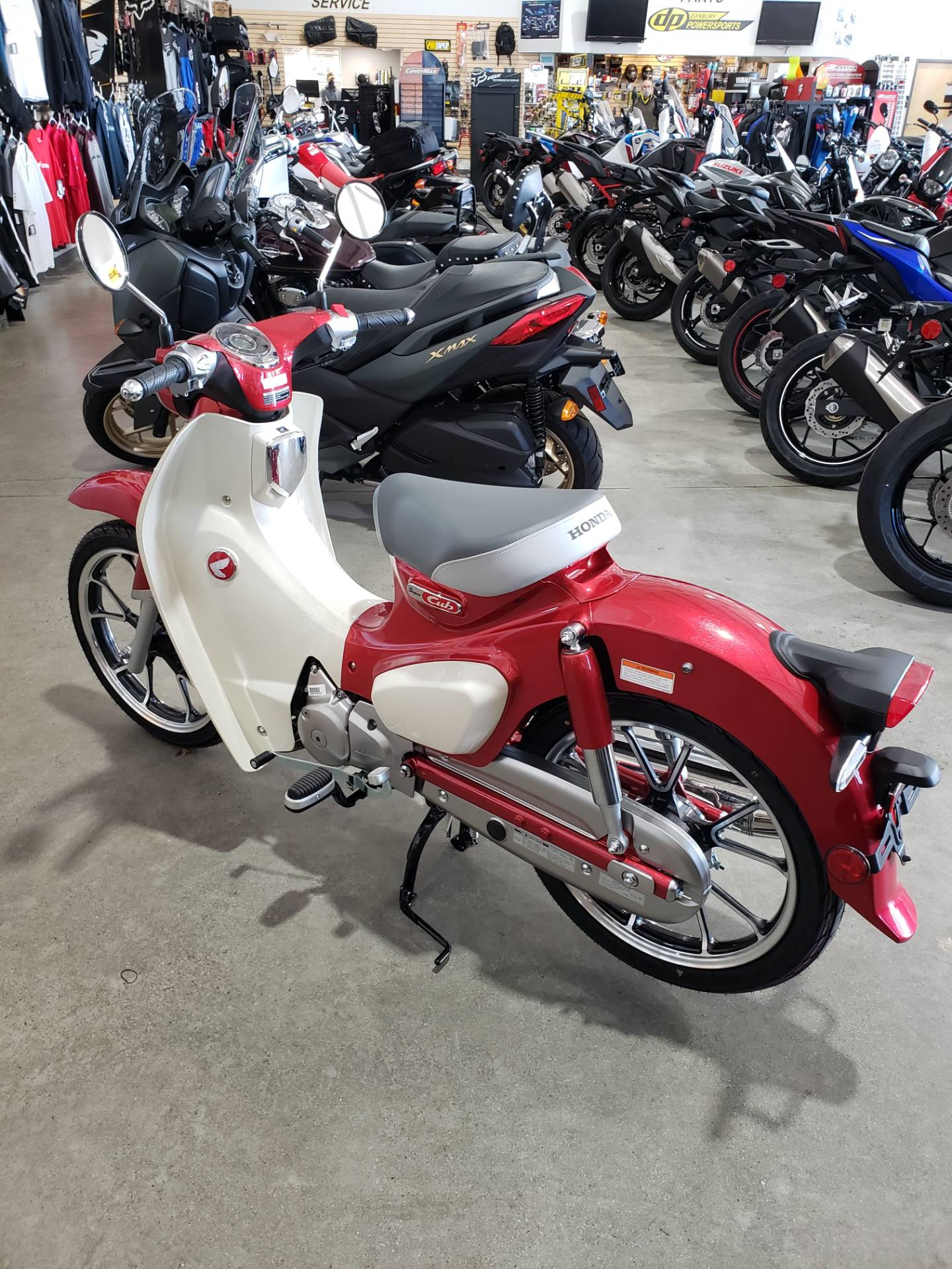 2021 Honda Super Cub 125 ABS in Danbury, Connecticut - Photo 1