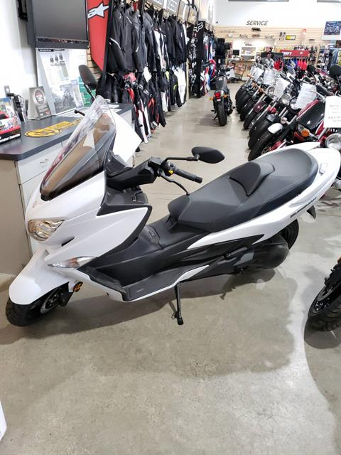 2018 Suzuki Burgman 400 ABS in Danbury, Connecticut - Photo 1