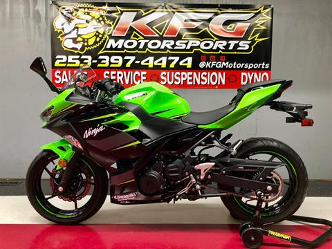 2018 Kawasaki Ninja 400 KRT Edition in Auburn, Washington