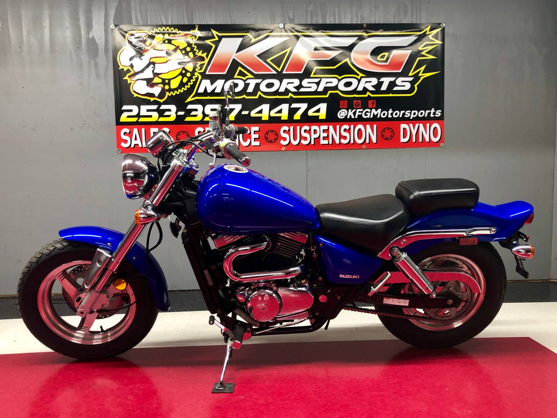 2004 Suzuki MAURAUDER 800 in Auburn, Washington
