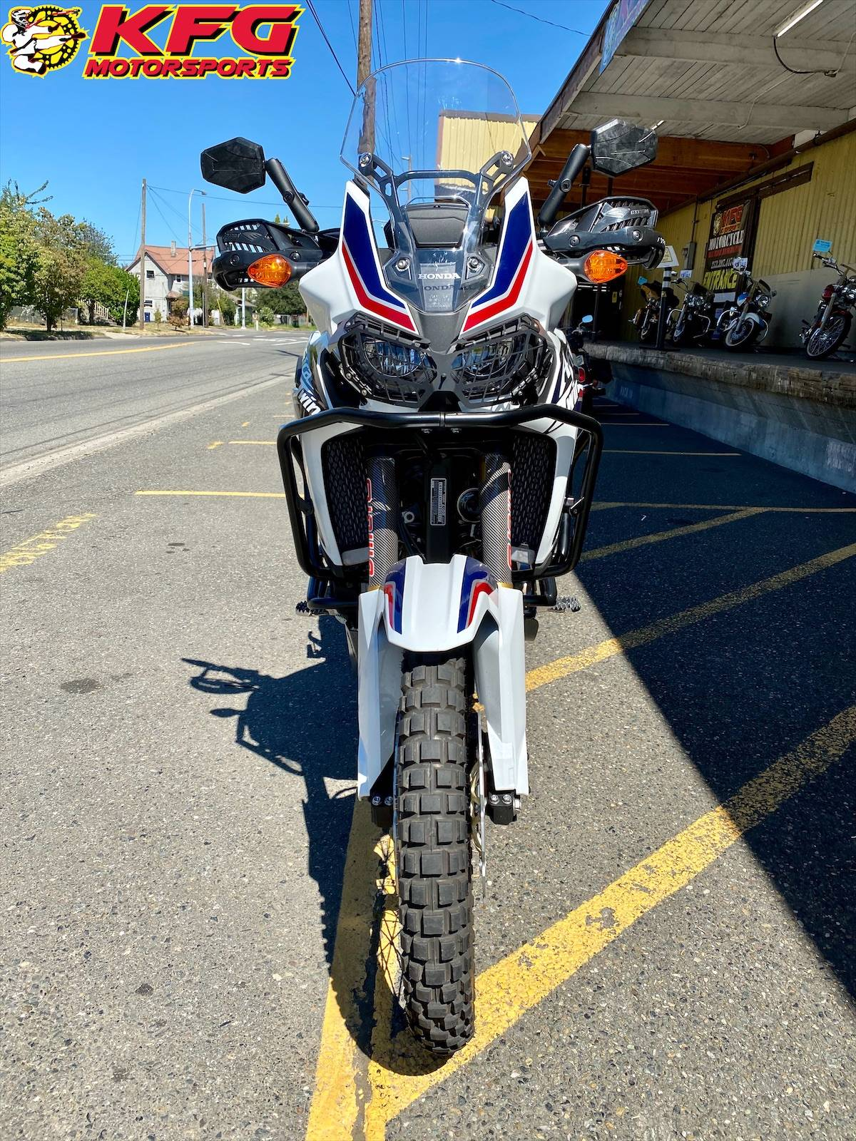 2017 Honda Africa Twin DCT in Auburn, Washington - Photo 3