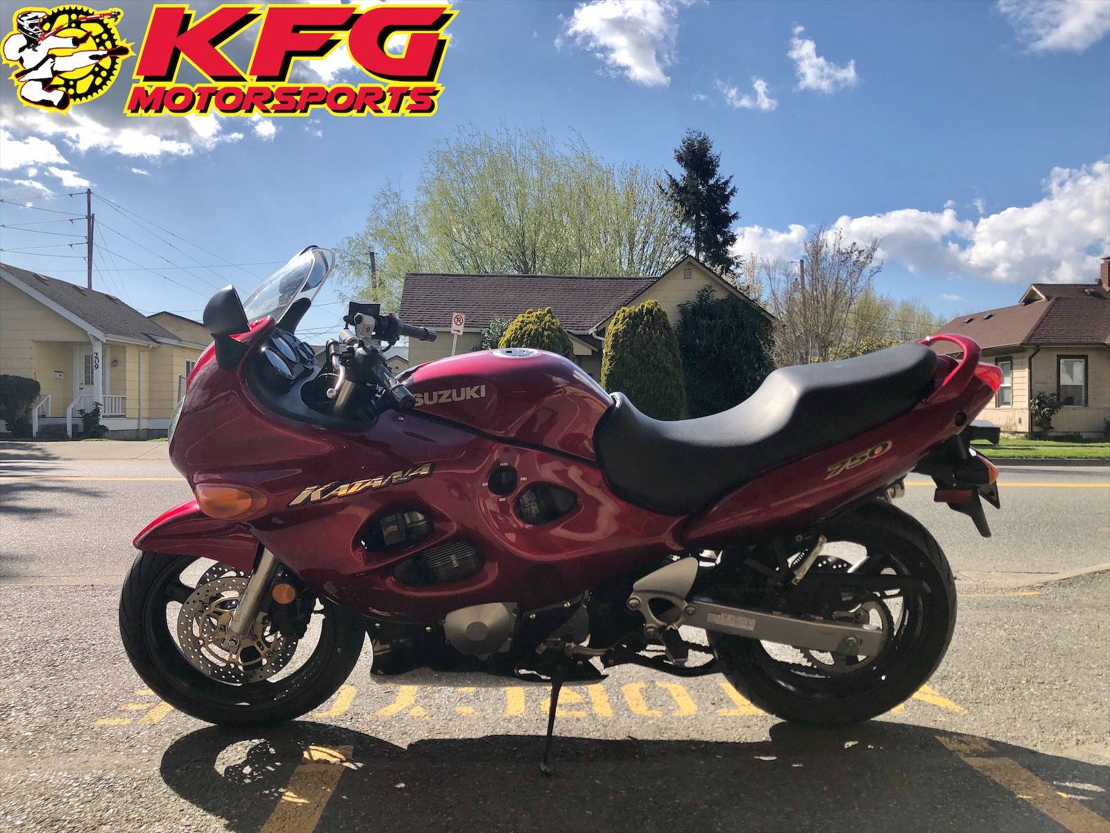 2000 Suzuki Katana 750 in Auburn, Washington - Photo 2