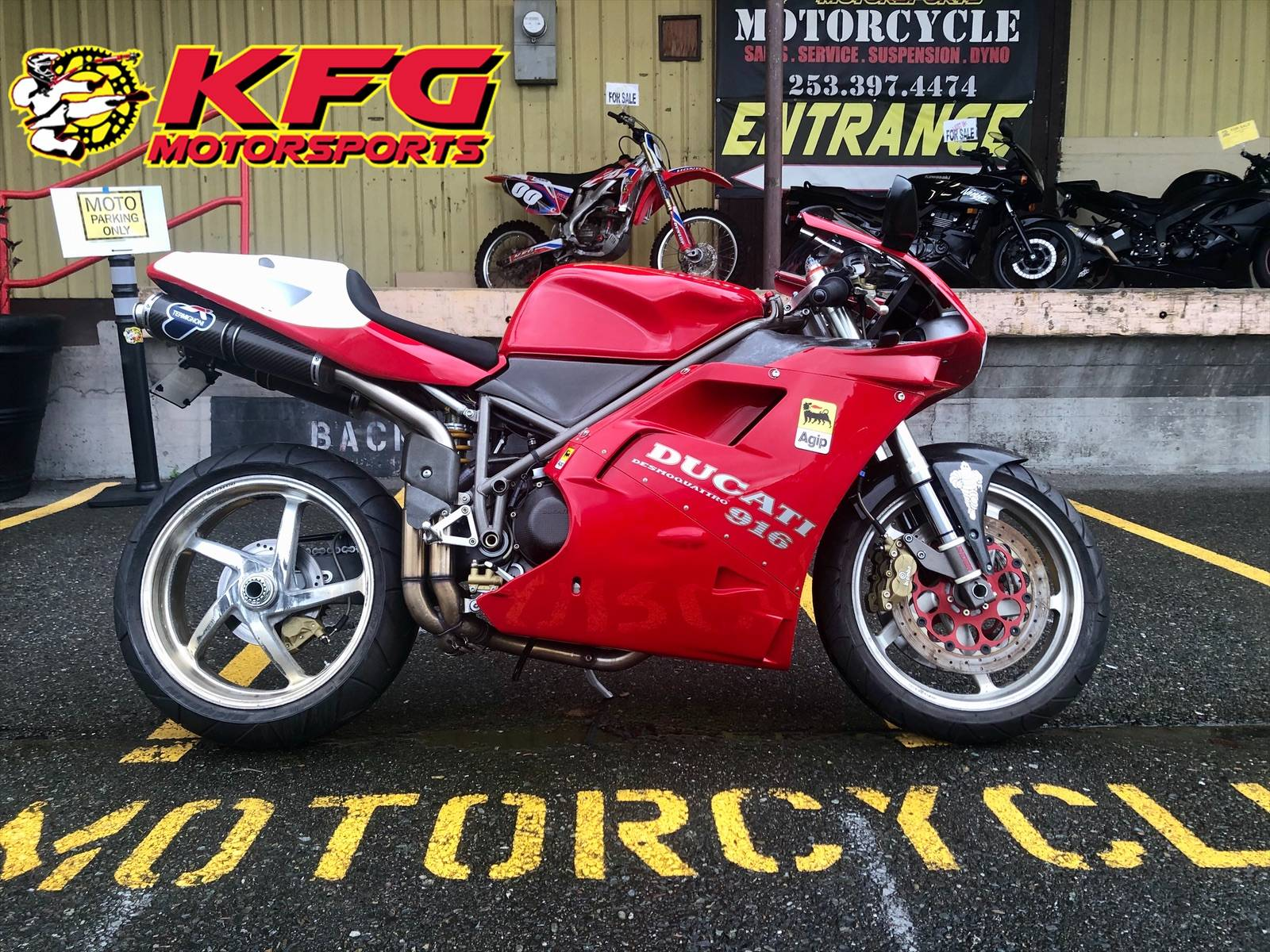 1995 Ducati 916 in Auburn, Washington - Photo 1