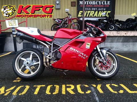 1995 Ducati 916 in Auburn, Washington