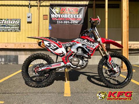 2016 Honda CRF450R in Auburn, Washington