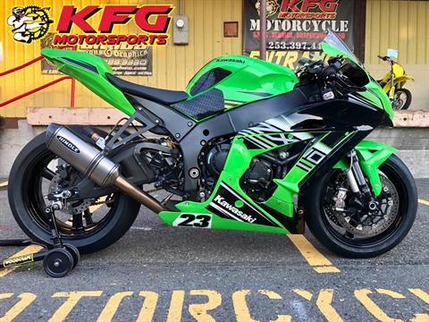2019 Kawasaki Ninja ZX-10R ABS KRT Edition in Auburn, Washington