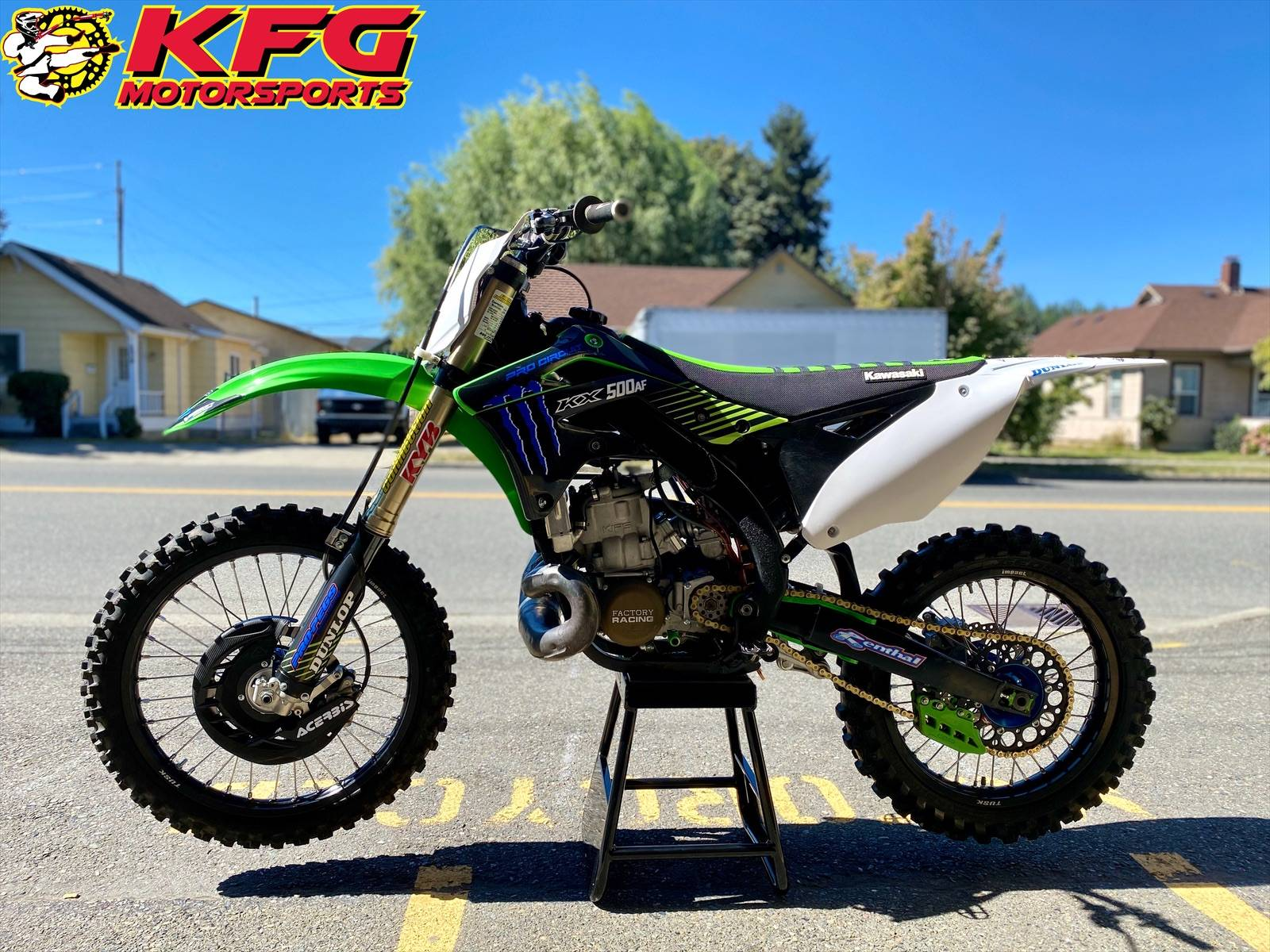 2013 Kawasaki KX500 in Auburn, Washington - Photo 2