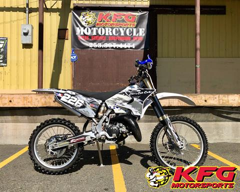2015 Yamaha YZ125 in Auburn, Washington