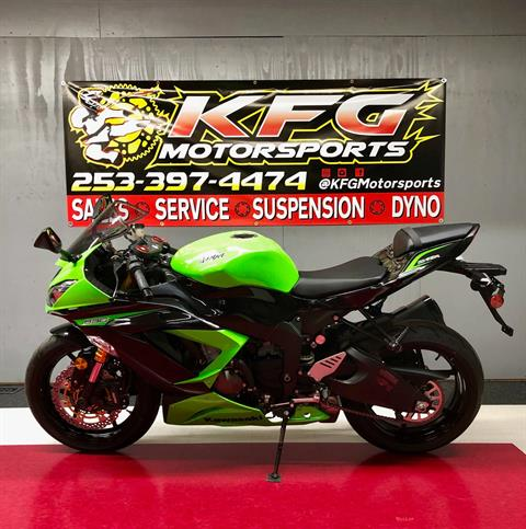 2013 Kawasaki ZX636 in Auburn, Washington